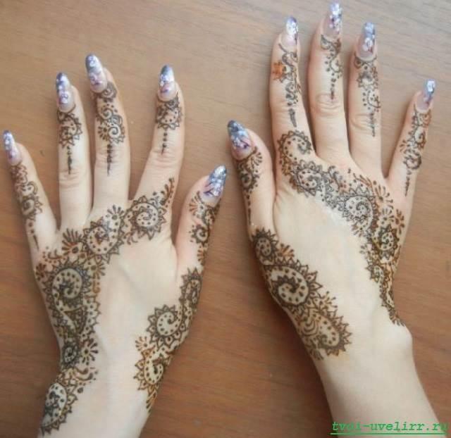 Мехенди-на-руках-Рисунки-мехенди-Хна-для-мехенди-28