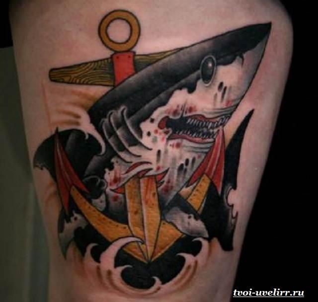Тату-акула-и-её-значение-17