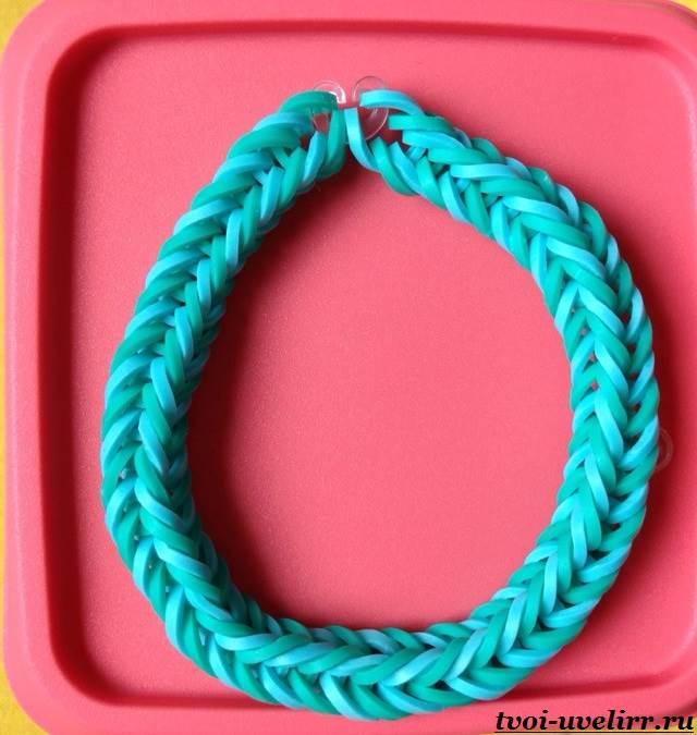 Плетение-из-резинок-на-рогатке-10