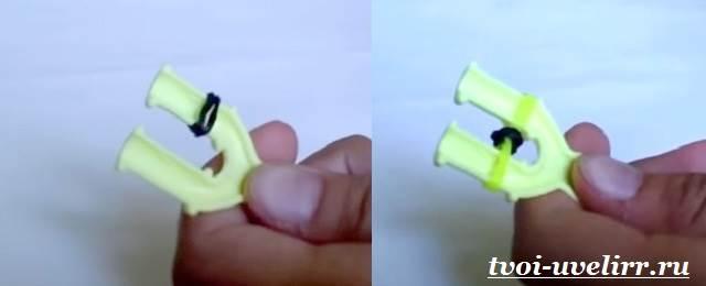 Плетение-из-резинок-на-рогатке-11