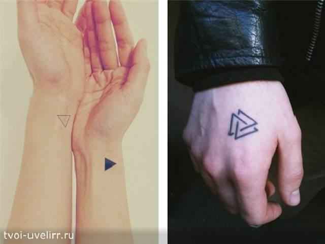 Тату-треугольник-и-её-значение-16