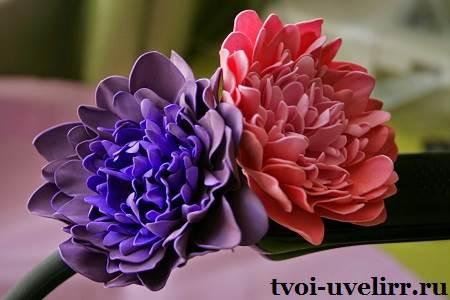 Что-такое-фоамиран-Цветы-из-фоамирана-1