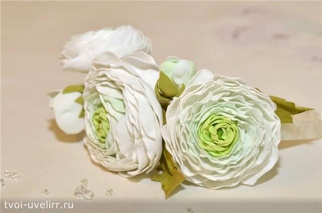 Что-такое-фоамиран-Цветы-из-фоамирана-15