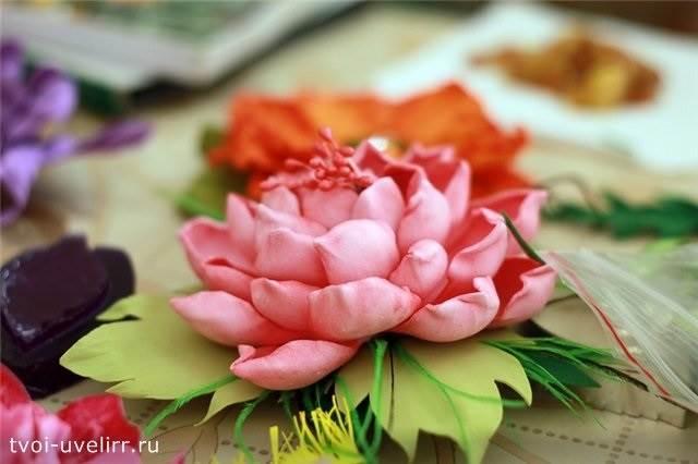 Что-такое-фоамиран-Цветы-из-фоамирана-21