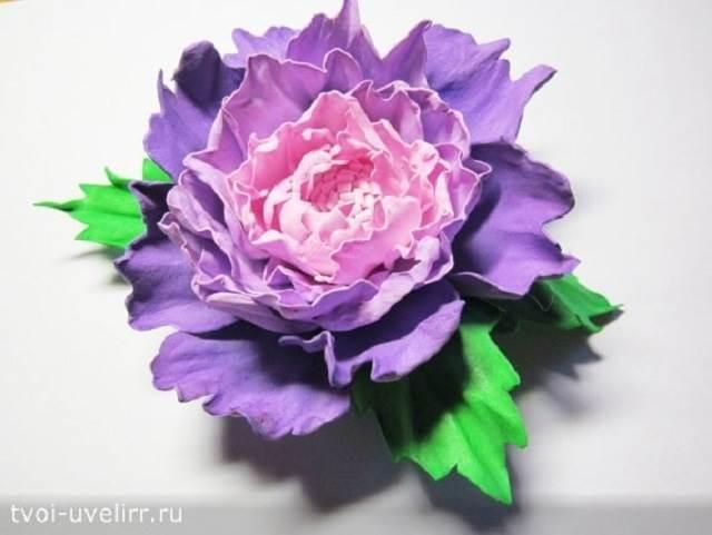 Что-такое-фоамиран-Цветы-из-фоамирана-22