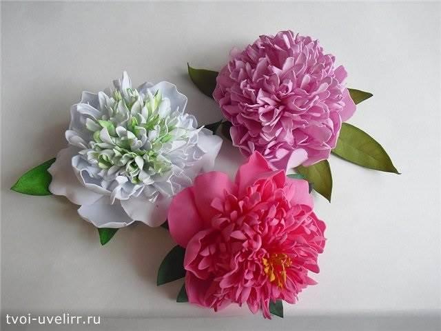 Что-такое-фоамиран-Цветы-из-фоамирана-23