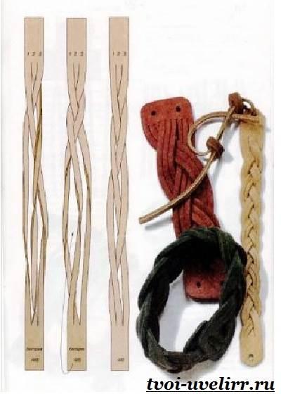 Браслеты-из-шнурков-Плетение-браслетов-из-шнурков-5