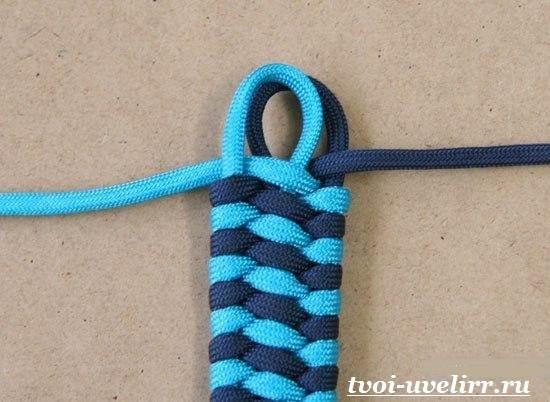 Браслеты-из-шнурков-Плетение-браслетов-из-шнурков-8