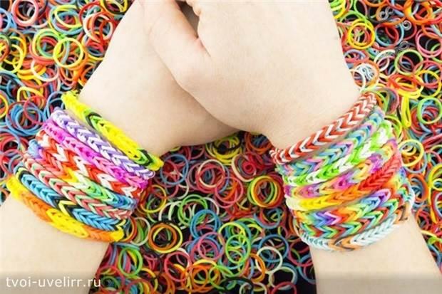 Браслеты-Rainbow-Loom-1