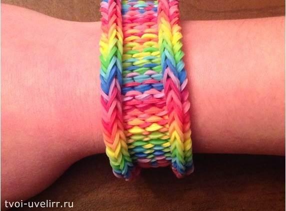 Браслеты-Rainbow-Loom-9