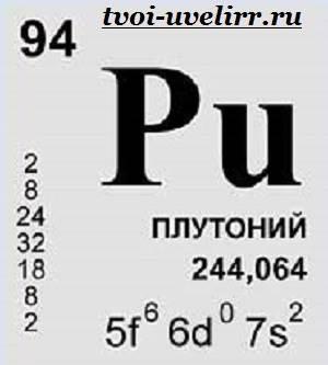 Плутоний-Описание-плутония-Свойства-плутония-6
