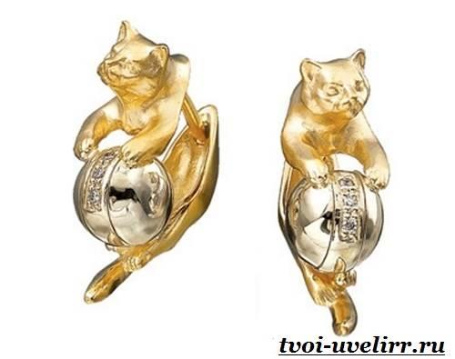Серьги-кошки-Особенности-и-популярность-сережек-кошек-7