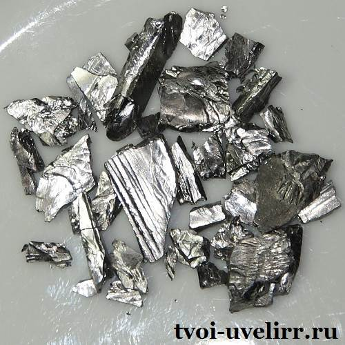 Производство тантала в россии
