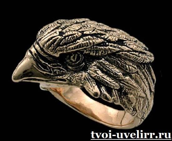 Кольцо-с-орлом-Виды-и-особенности-колец-с-орлом-11