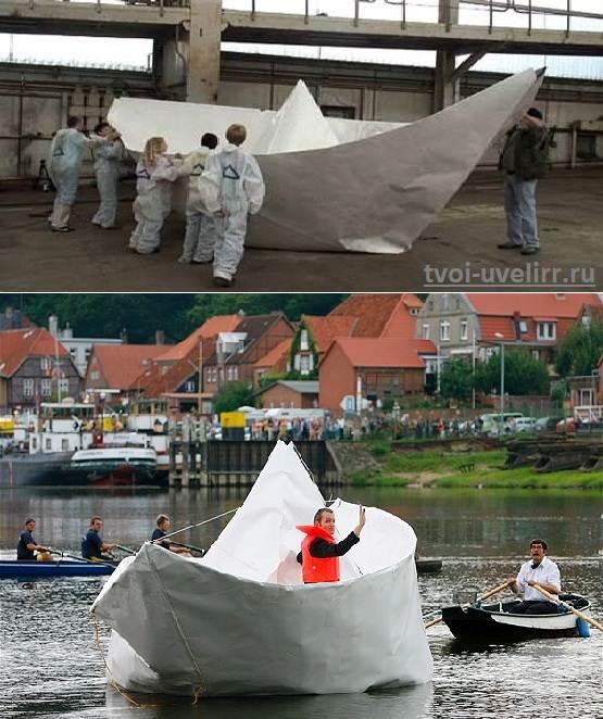 Как-сделать-бумажный-кораблик-1