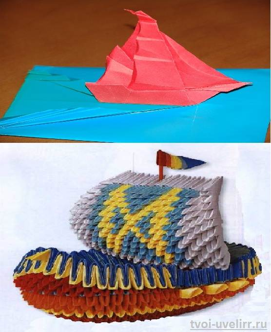 Как-сделать-бумажный-кораблик-4