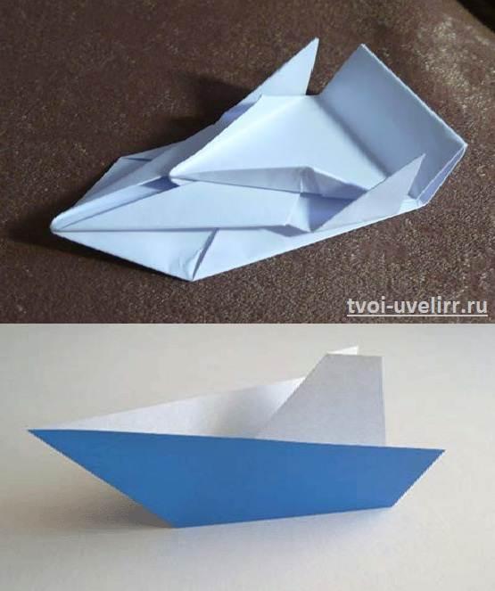 Как-сделать-бумажный-кораблик-6