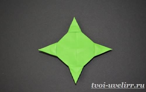 Как-сделать-сюрикен-из-бумаги-3
