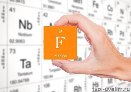 Доклад по химии фтор 231