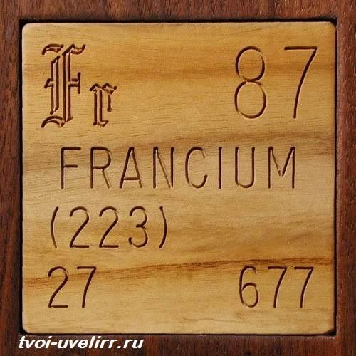 Франций-элемент-Свойства-добыча-и-применение-франция-1