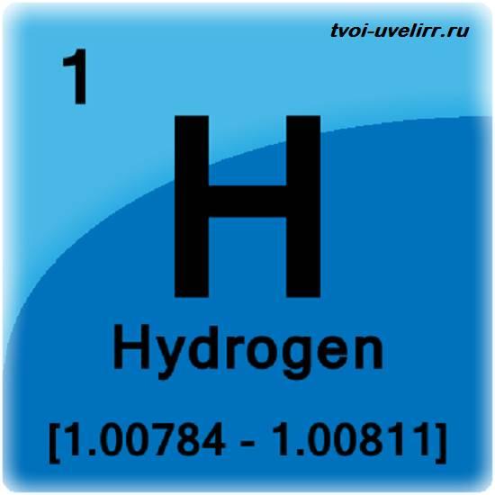 Водород-элемент-Свойства-водорода-Применение-водорода-2