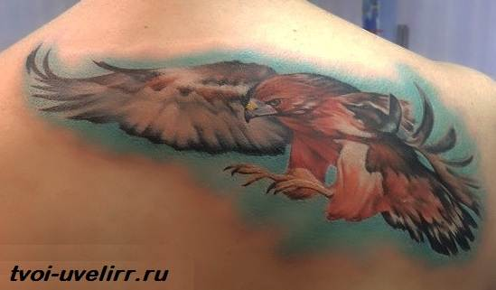 Тату-орел-Виды-и-значение-тату-орёл-9