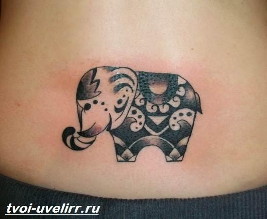 Тату-слон-Особенности-виды-и-значение-тату-слон-7