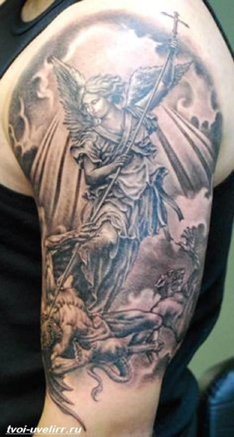 Тату-ангел-Значение-тату-ангел-Эскизы-и-фото-тату-ангел-1