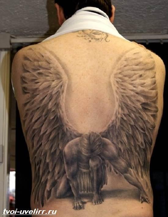 Тату-ангел-Значение-тату-ангел-Эскизы-и-фото-тату-ангел-4