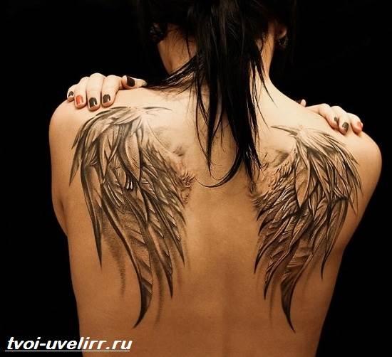 Тату-ангел-Значение-тату-ангел-Эскизы-и-фото-тату-ангел-6