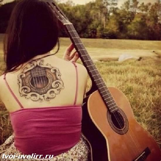 Тату-гитара-Значение-тату-гитара-Эскизы-и-фото-тату-гитара-5