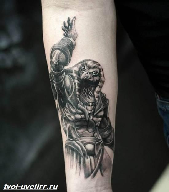 татуировка на шею мужские фото