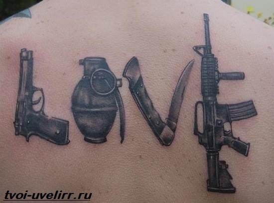 Тату-любовь-Значение-тату-о-любви-Эскизы-и-фото-тату-любовь-10