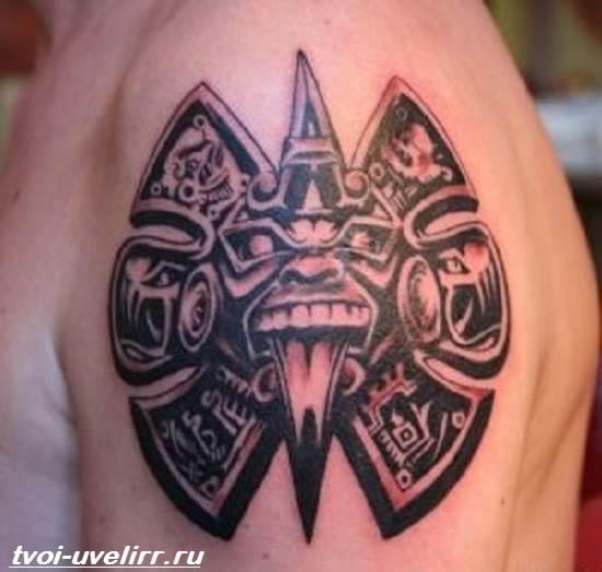 Тату-майя-Значение-тату-майя-Эскизы-и-фото-тату-майя-10