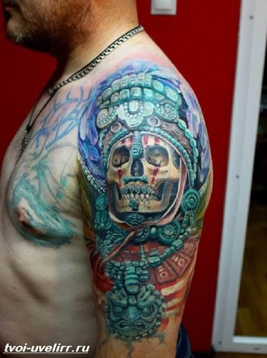 Тату-майя-Значение-тату-майя-Эскизы-и-фото-тату-майя-2