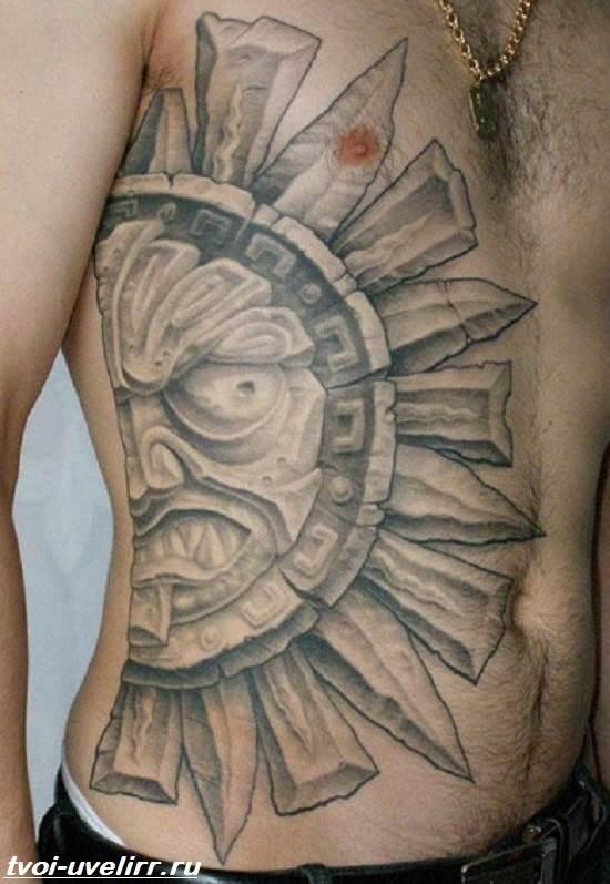 Тату-майя-Значение-тату-майя-Эскизы-и-фото-тату-майя-4