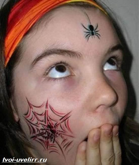Тату-паутина-Значение-тату-паутина-Эскизы-и-фото-тату-паутина-9