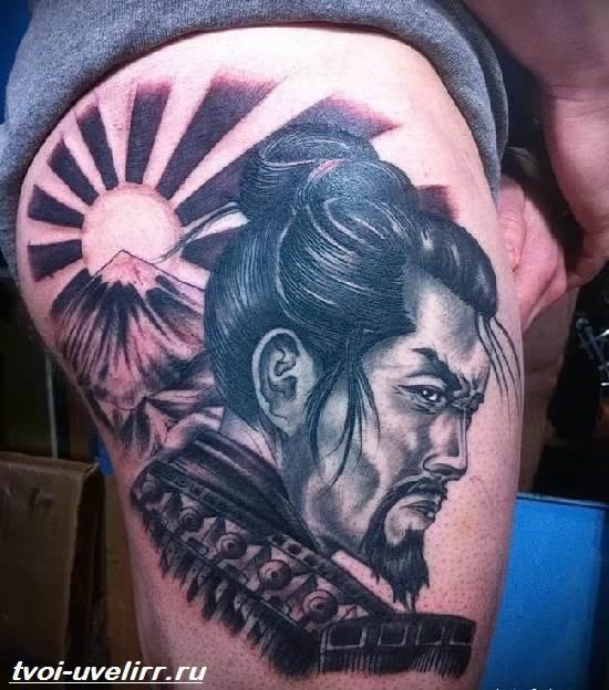 Тату-самурай-Значение-тату-самурай-Эскизы-и-фото-тату-самурай-4
