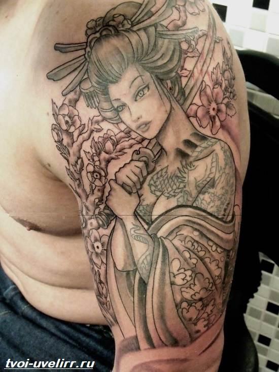 Тату-самурай-Значение-тату-самурай-Эскизы-и-фото-тату-самурай-9