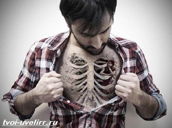 Тату-скелет-Значение-тату-скелет-Эскизы-и-фото-тату-скелет-5