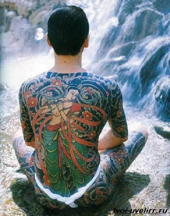 Тату-якудза-Значение-тату-якудзы-Эскизы-и-фото-тату-якудзы-3