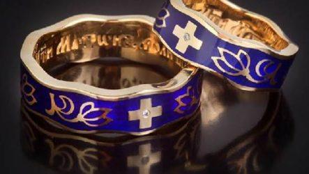 Венчальные кольца. Описания, особенности, виды и значение венчальных колец